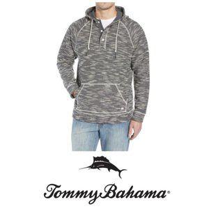 Tommy Bahama Mens Gray Baja Nova Pullover Sz XL